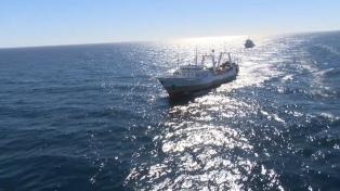 Argentina logró detener a un buque pesquero Chino que se había fugado