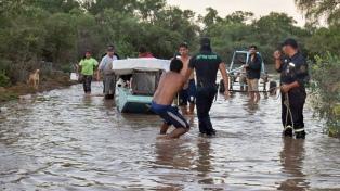 La crecida del Pilcomayo por las lluvias en el sur de Bolivia vuelve a amenazar el norte