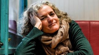 La escritora Inés Garland.