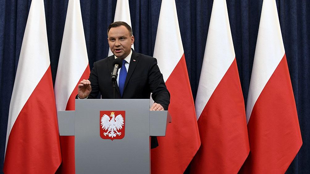 Andrezj Duda logró un nuevo mandato en Polonia