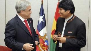Evo Morales felicita a Sebastián Piñera y expresa predisposición de diálogo