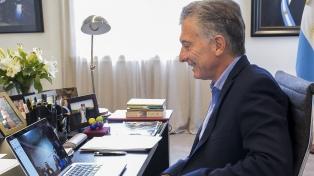 Macri saludó por Skype a los atletas argentinos en Corea del Sur