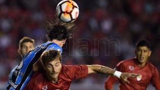 Independiente y Gremio igualaron en la ida de la Recopa