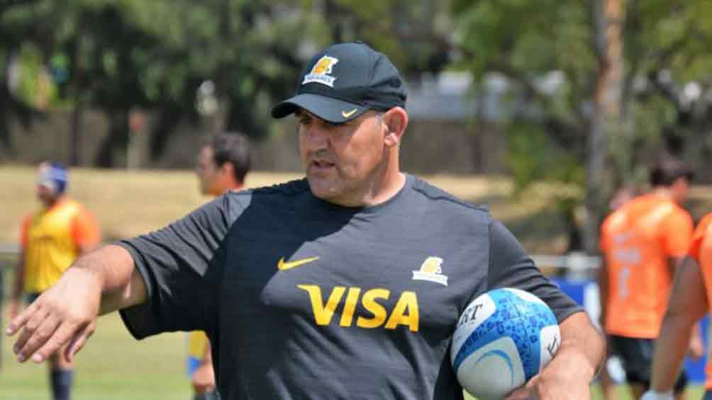 Mario Ledesma espera el permiso para volver a entrenar a Los Pumas