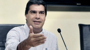 Jorge Capitanich juró por tercera vez como gobernador
