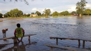 Los desbordes del Pilcomayo causaron pérdidas de infraestructura en el oeste
