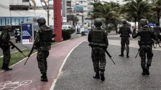 Unos 3.200 militares participan en un operativo en tres favelas de Río