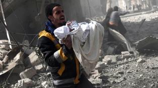 Rusia anunció una pausa y un corredor humanitario en Ghouta Oriental