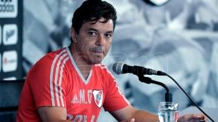 Gallardo reservará a Maidana, Ponzio y Mora para el debut en la Copa Libertadores