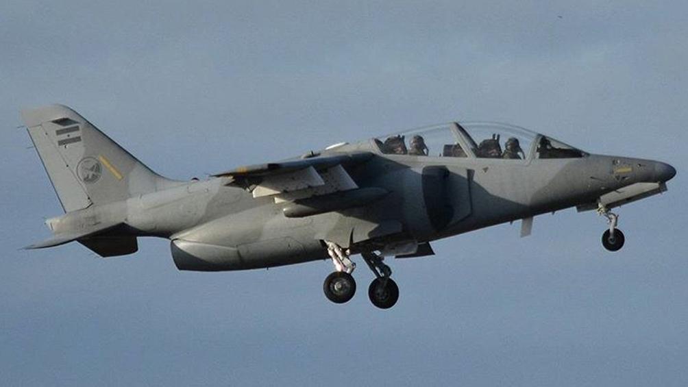 """Avión de entrenamiento avanzado IA-63 """"Pampa"""""""