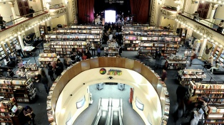 """La librería Grand Splendid, elegida como """"la más hermosa del mundo"""""""