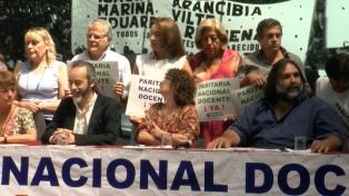 Ctera reclamó un llamado a la paritaria nacional docente para evitar un conflicto