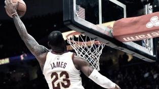 LeBron James alcanzó un nuevo récord en la NBA