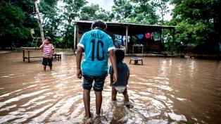Cáritas donará $244.056 para damnificados por inundaciones en el norte argentino
