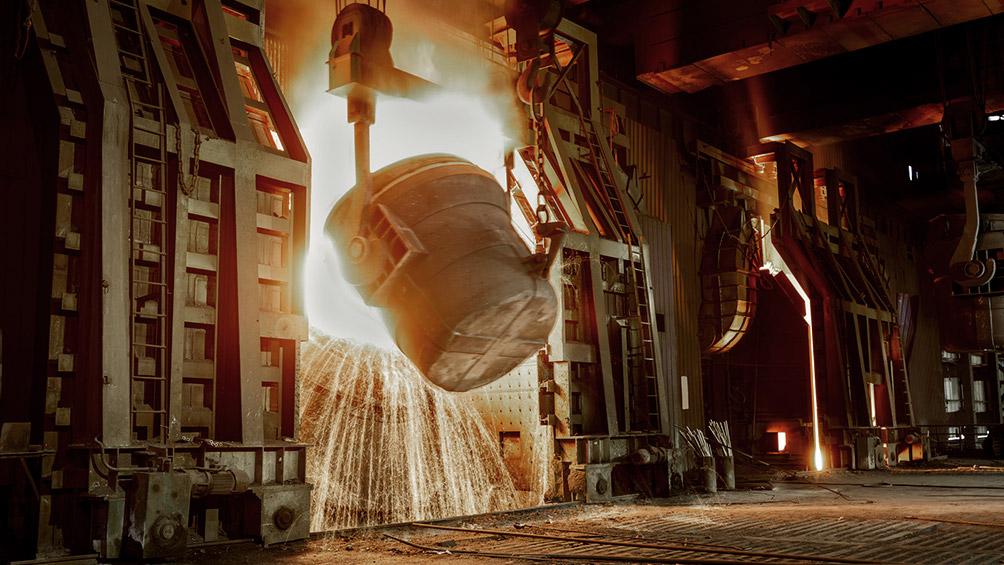 El uso de la capacidad instalada en la industria fue del 59,4% en febrero