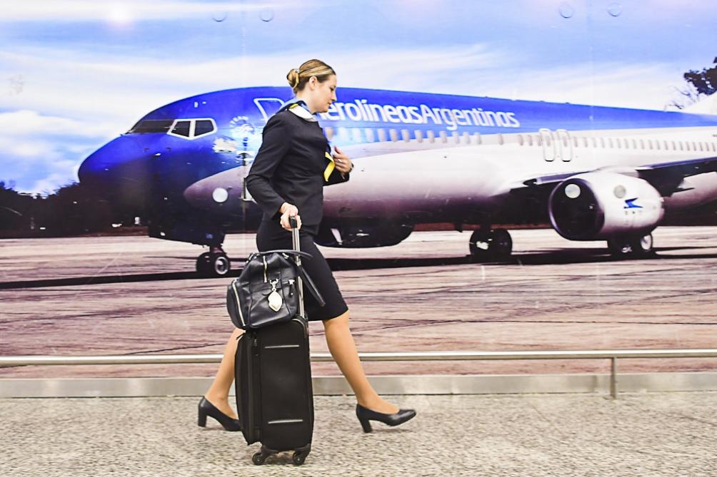 Image result for tripulacion Aerolíneas Argentinas