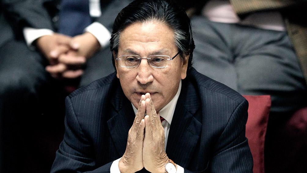 Ex presidente de Perú, liberado en EEUU por riesgo de salud