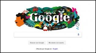 Google rinde homenaje a García Márquez a 91 años de su nacimiento