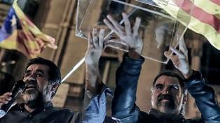 El activista Jordi Cuixart defiende el referéndum catalán