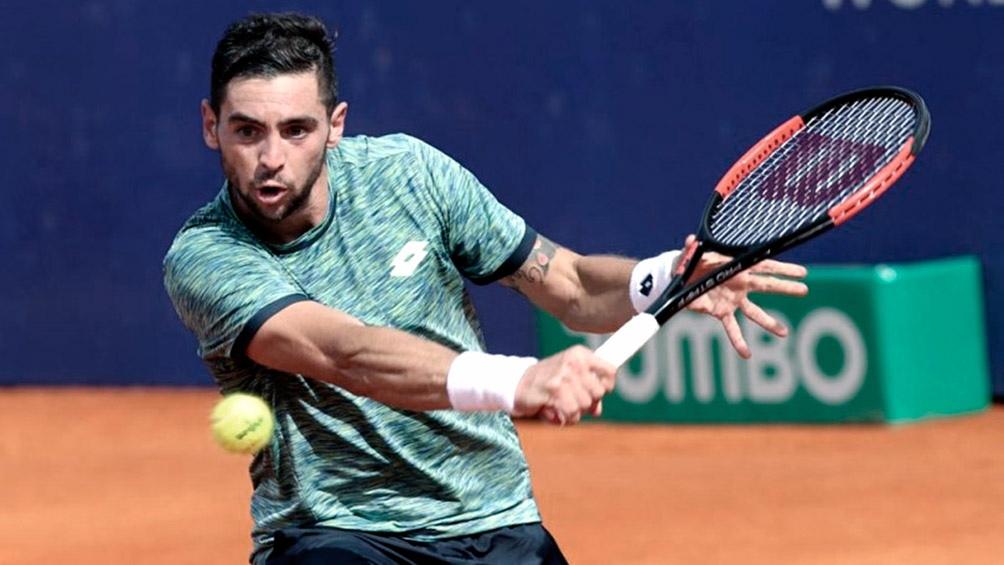 Andreozzi está ubicado en el puesto 206 del ranking mundial de la ATP.
