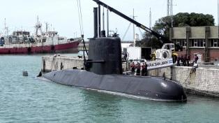 Para la Armada, es muy buena la relación con familiares de los tripulantes del San Juan