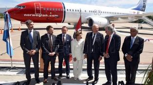 """La low-cost Norwegian se propone """"contribuir al desarrollo del mercado aerocomercial argentino"""""""