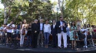Macri presentó el Plan Nacional de Orquestas Infanto-Juveniles
