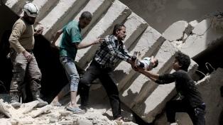 Al menos 61 niños murieron en dos meses, denunció Save the Children