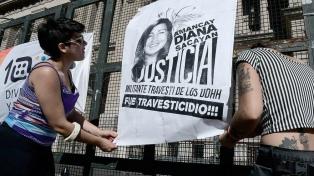 El lunes se conocerá el veredicto del juicio por el crimen de la dirigente trans Diana Sacayán