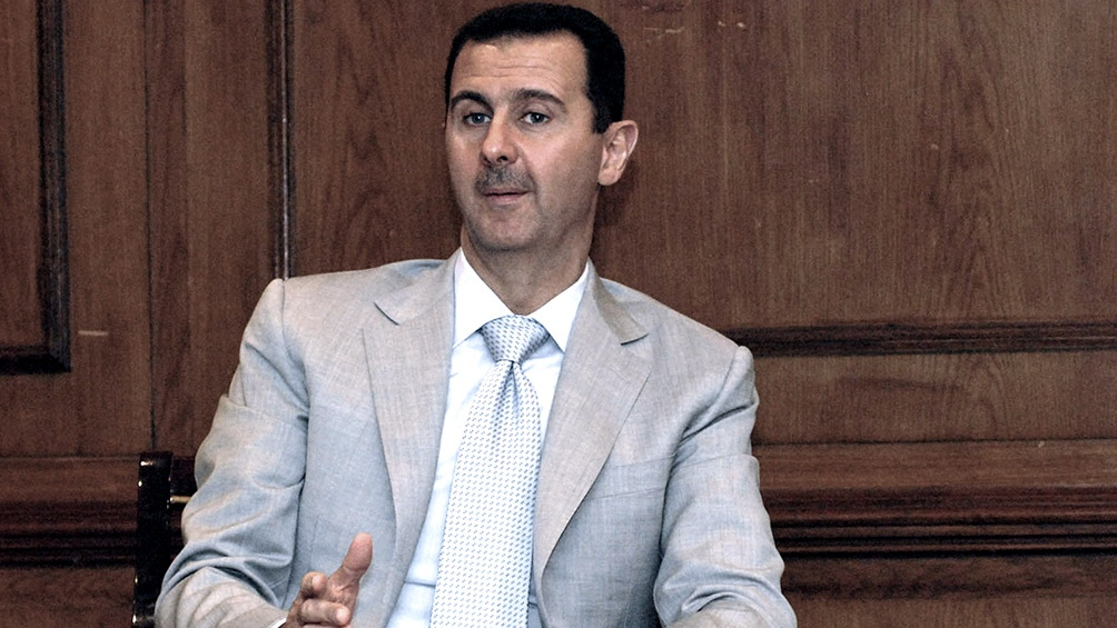 Bashar al Assad.