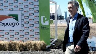 El presidente Macri inaugura la feria industrial Expoagro 2018