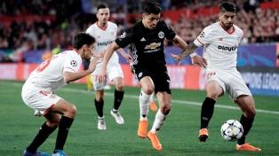 Sevilla venció al Manchester United y logró la hazaña