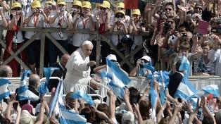 "El papa Francisco afirmó que espera visitar ""pronto"" la Argentina"
