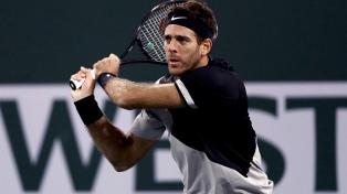"""Del Potro """"barrió"""" a Raonic y va por el título ante Roger Federer"""