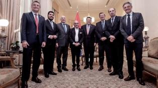Los cancilleres del Mercosur debaten los avances del acuerdo con la UE