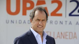 Indagarán a Scioli por irregularidades en la adjudicación de obras