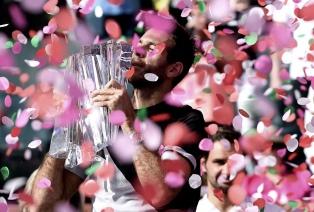 Del Potro hizo historia ante Federer y se llevó Indian Wells