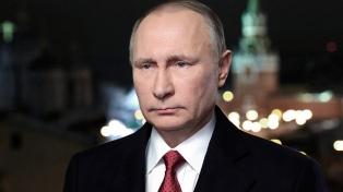 """Putin: """"Espero que nadie tenga la idea de traspasar una línea roja con Rusia"""""""