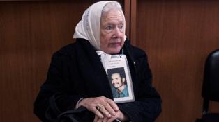 Nora Cortiñas repudió que el represor Scilingo, condenado en España, tenga salidas transitorias
