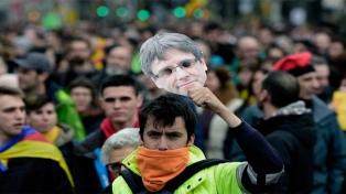 Heridos y detenidos en la protesta tras el arresto de Puigdemont