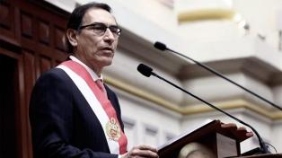 Martín Vizcarra comienza su mandato con una aprobación del 57 por ciento