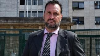 El abogado Luis Tagliapietra, padre de Alejandro, una de las 44 víctimas.