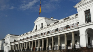 Palacio de Carondelet, sede del Gobierno