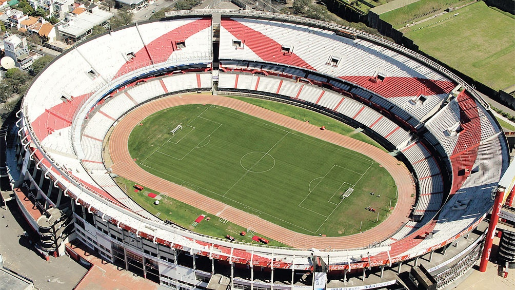 El estadio de River Plate.