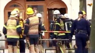 Un incendio en la embajada argentina en Suecia dejó 14 heridos leves