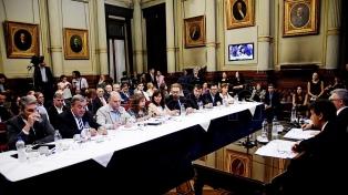 Con críticas a Aguad comenzó el debate en la Bicameral que investiga lo ocurrido