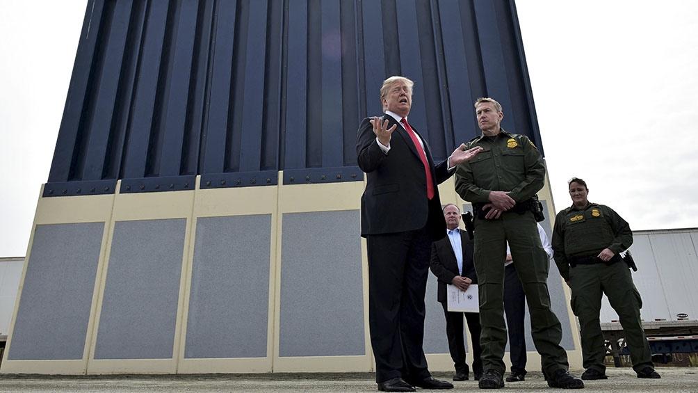 Trump hizo de la seguridad fronteriza una piedra angular de su gestión