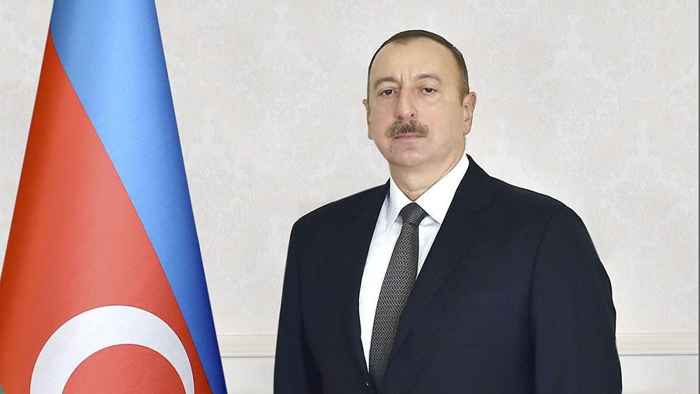 Ilham Aliyeb, presidente de Azerbaiyán