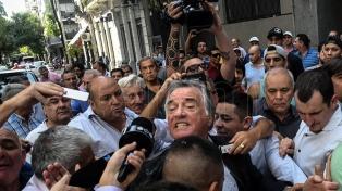 Repudian la agresión al camarógrafo de Télam que cubría la asunción de Barrionuevo