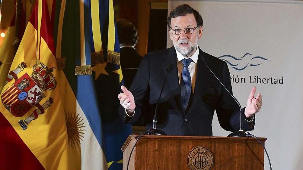 Mariano Rajoy, presidente del Gobierno de España entre 2011 y 2018. Enfrentado al independentismo.